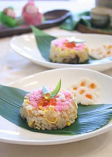 押し寿司風