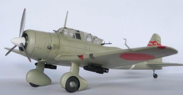 九九式襲撃機・ニチモ1/48 - 毎日のできごとの反省
