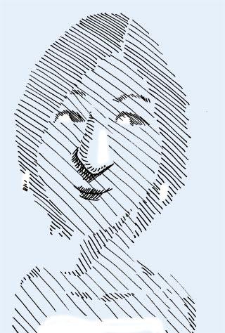 広末涼子の似顔絵