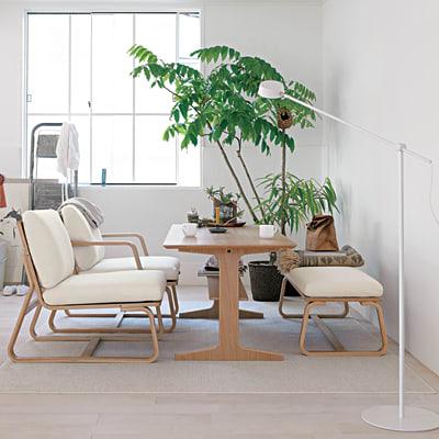 私と同じように狭いリビングの家具配置に悩んでいる方は、ダイニングとソファを兼用できるこのシリーズをお勧めする。テーブルの組み立ては、同じようなボルトや  ...