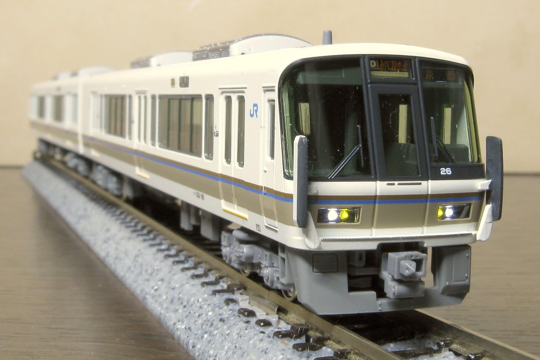 むしろ奈良線用?~KATO 221系 リニューアル車「大和路快速」セットを ...