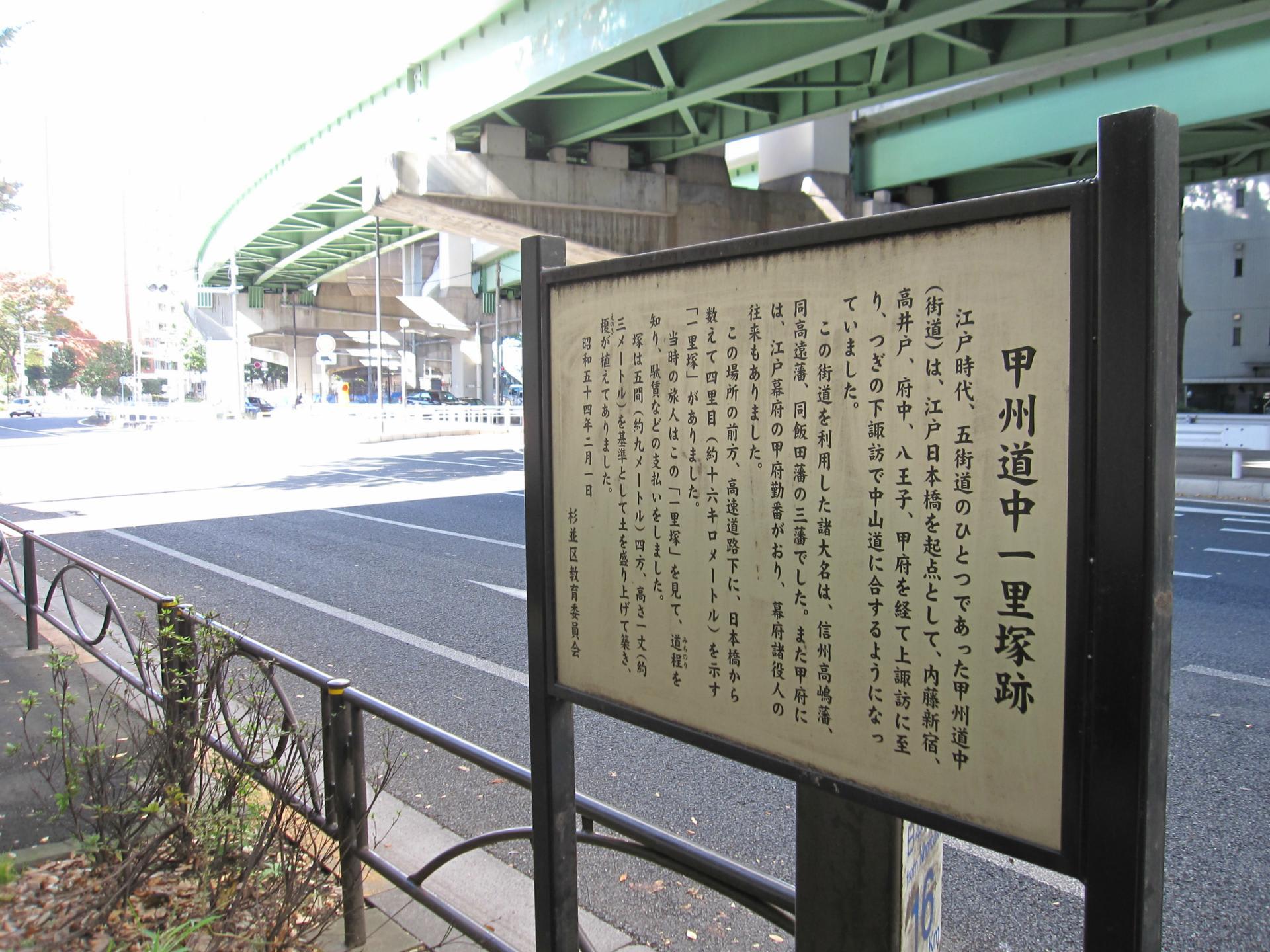 甲州道中紀行1 日本橋~内藤新宿...
