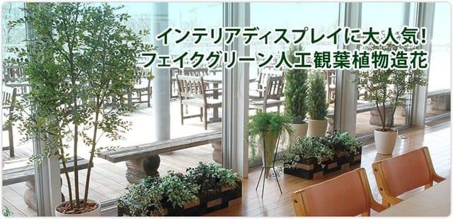 人工観葉植物・樹木専門店 フェイクグリーンプラント