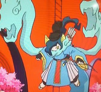 妖怪ウォッチアニメ 右大臣オロチ左大臣キュウビ凄くカッコ良かった