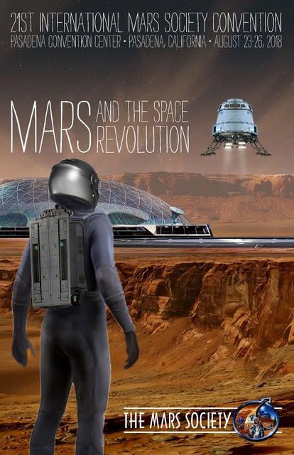 the 21st アメリカ火星協会の年...