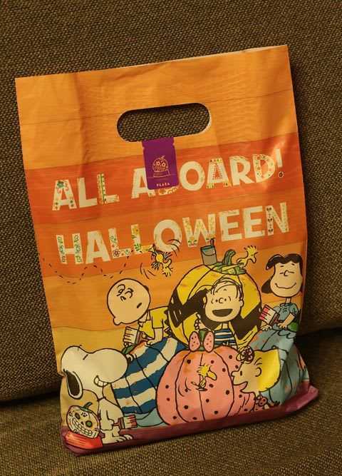 all aboard halloween with snoopy mr 小太郎