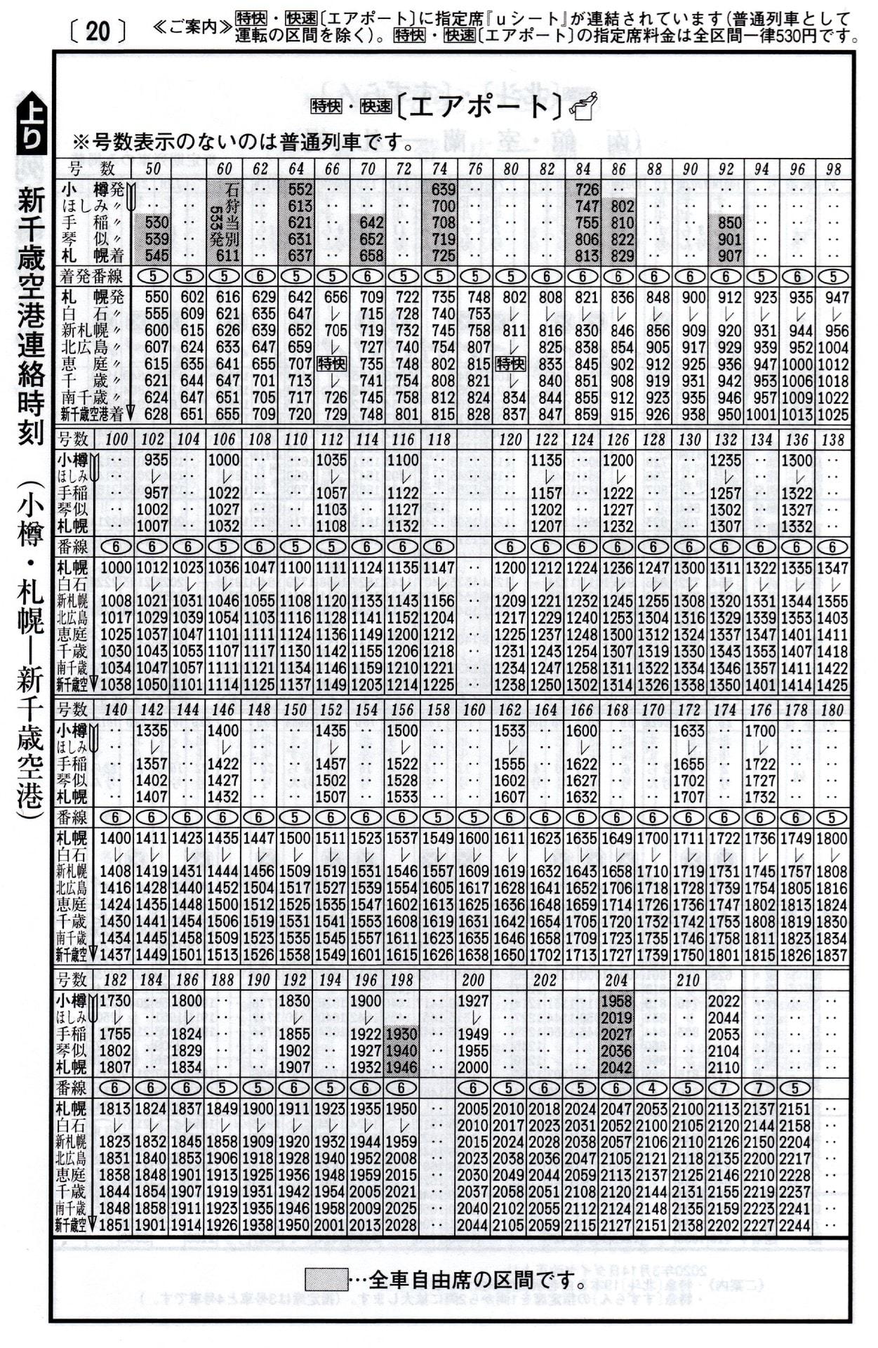 Jr 北海道 時刻 表 JR北海道の時刻表/路線図/定期代 - 駅探