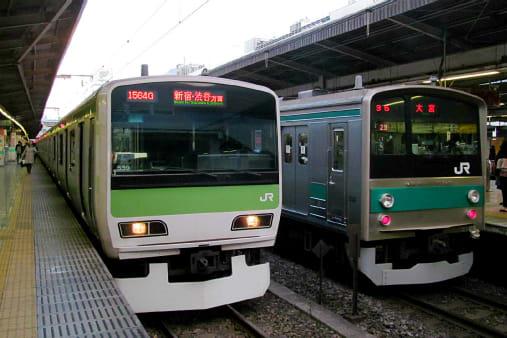 「山手線埼京線」の画像検索結果