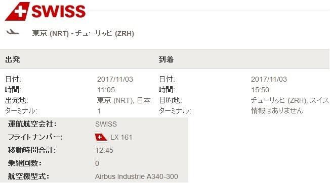 フライトログ No.268 まだまだ頑張るA340 RJAA-LSZH - 世界旅行計画in ...