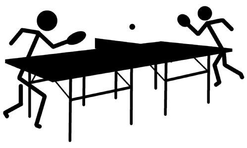 卓球 イラスト シンプルイラスト素材