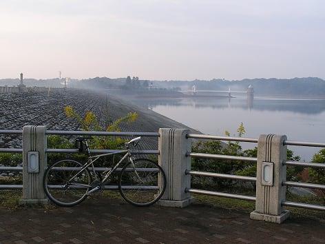 多摩湖 狭山湖 サイクリング