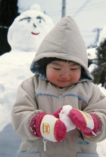 雪国のわらしっこ