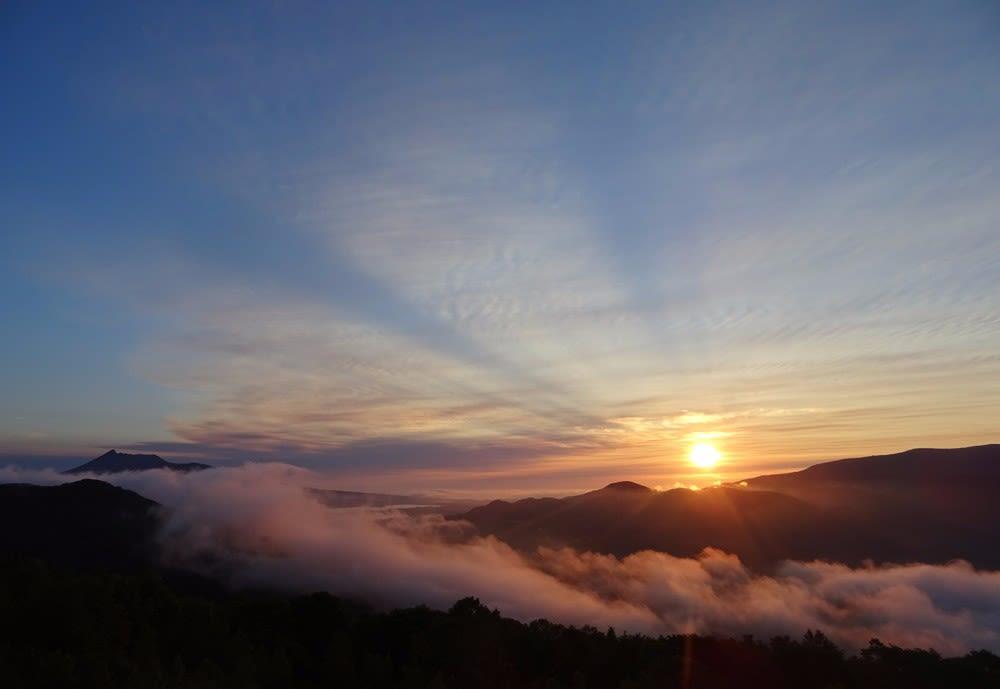 雲海&朝焼け・きじひき高原見晴台