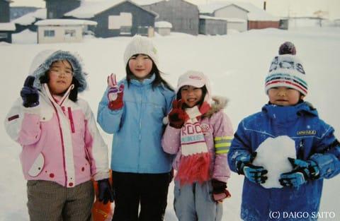 雪国の子供