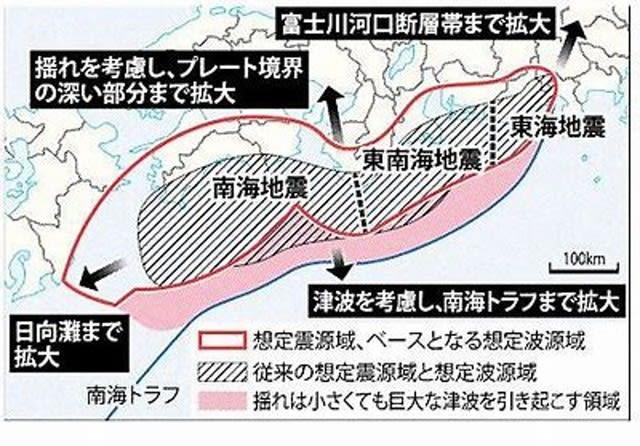 """南海 トラフ 地震 5 月 11 日 超巨大『南海トラフ』地震の兆し? 深海魚の""""異変""""が示す「Xデー」"""