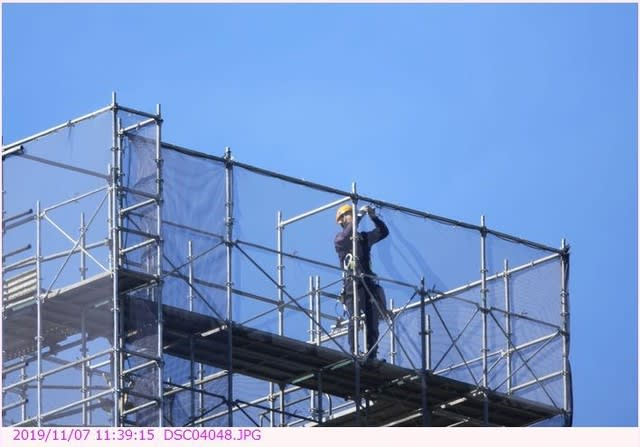シンデレラ 城 工事