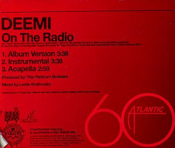 deemi on the radio