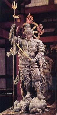 京都の仏像 東寺講堂 「増長天」...