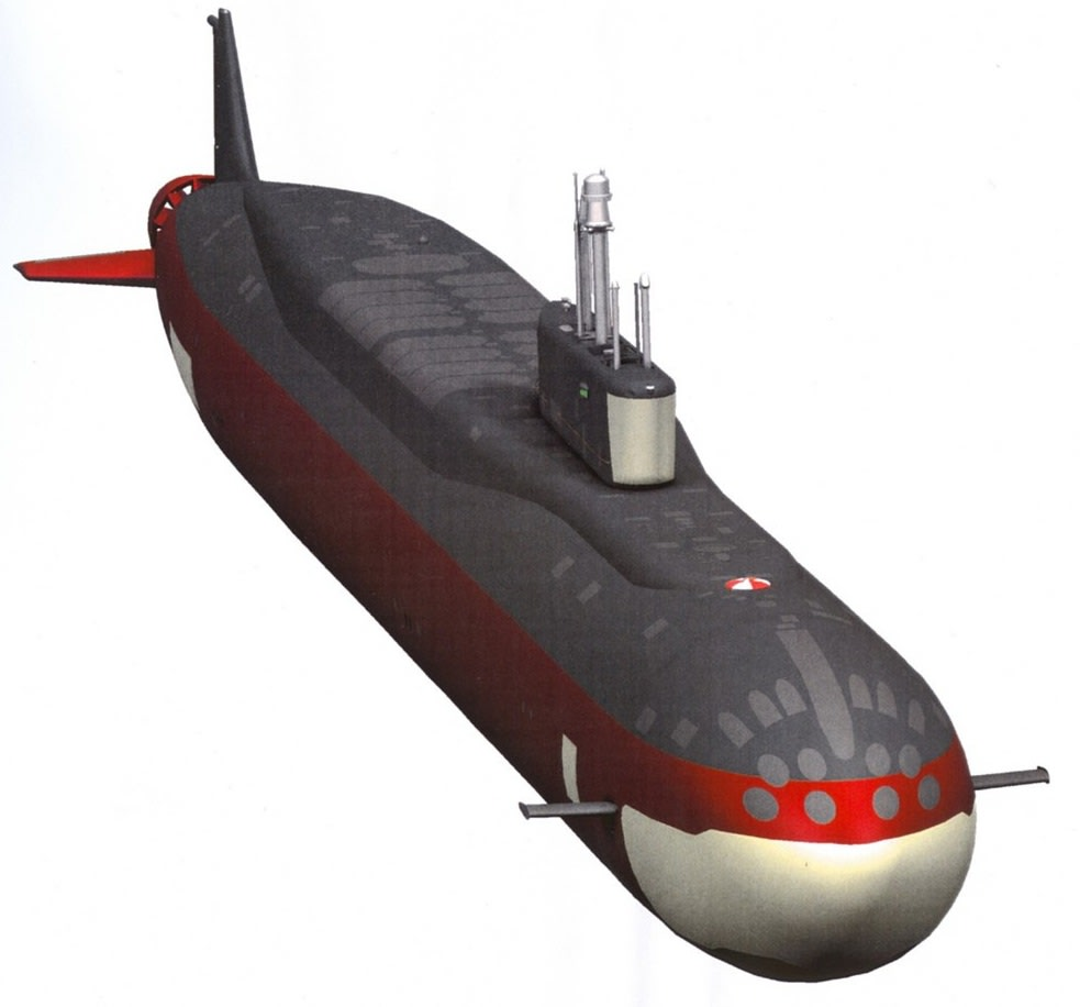 ボレイ型原子力潜水艦