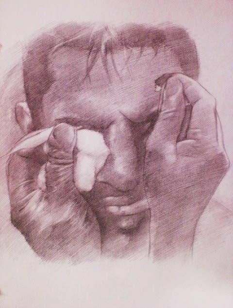 鉛筆画(エンスウェル) - 。