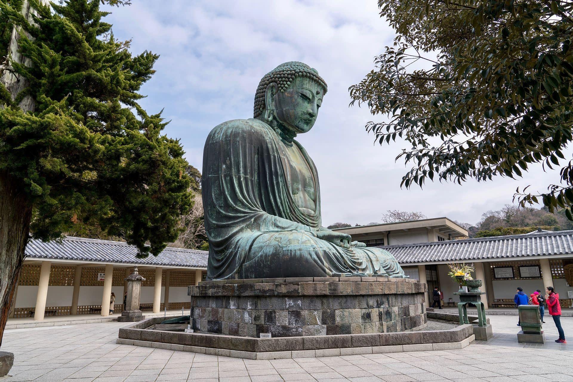 国指定史跡】 鎌倉大仏殿跡、 【...