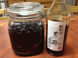 酢黒豆大豆