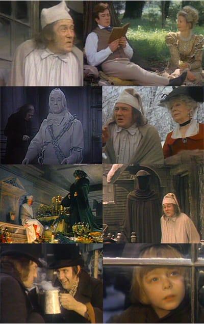 映画『クリスマス・キャロル』A・フィニーは34歳でC・ディケンズ ...