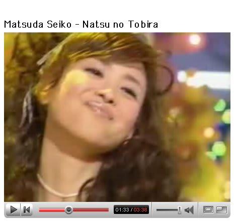 松田聖子 夏の扉 Youtube Rockan Style 67