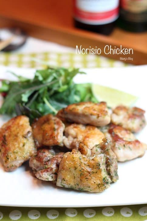 パリパリのり塩チキン - マイティの Awesome Cooking