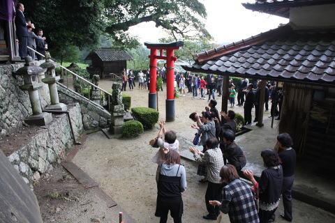 山添遅瀬八柱神社村当家祭 - マネジャーの休日余暇(ブログ版)