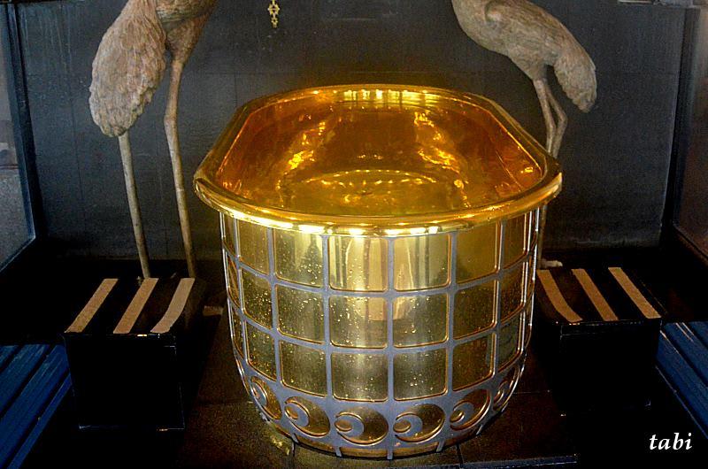 黄金風呂 盗難