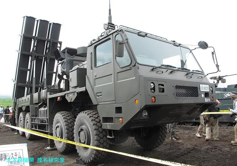 """新装備""""12式地対艦誘導弾システム"""" 平成25年度富士総合火力 ..."""