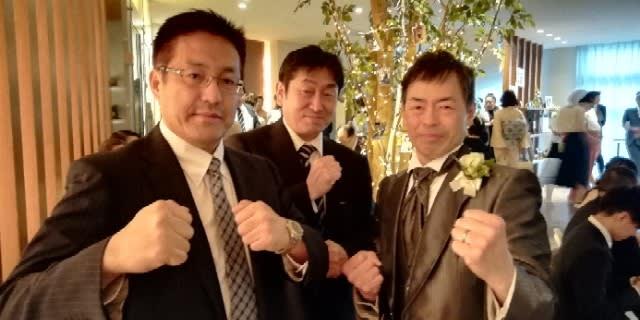 北海道 札幌 空手 赤渕先輩結婚式(正道会館北海道)