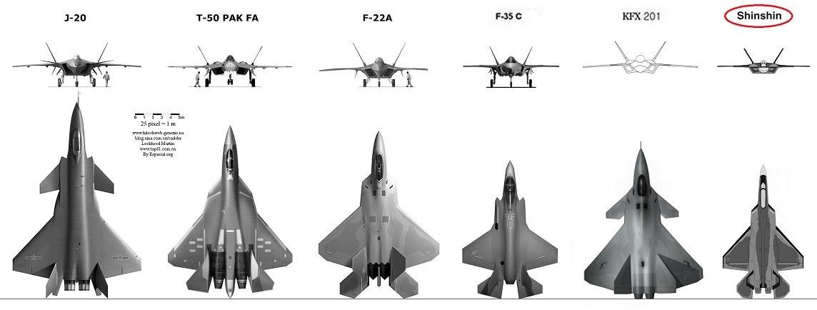 日本の将来戦闘機、大型で航続力...