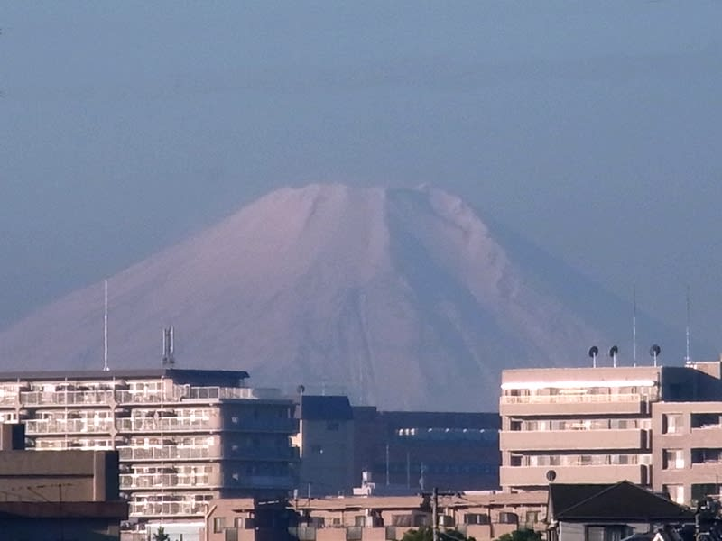 11月27日 富士山