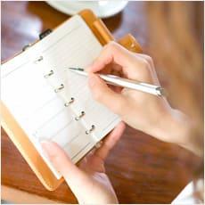 「充実した手帳ライフのススメ ←この記事ど」の質問画像
