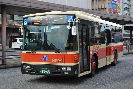 広島交通の2015年新車と日デUAノ...