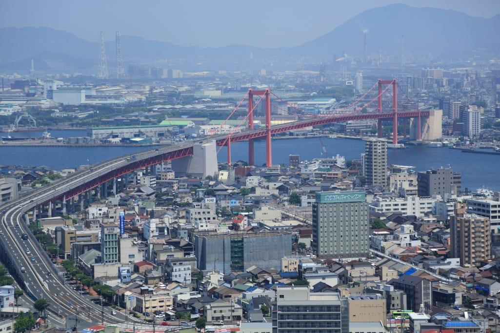 故郷の風景:高塔山から洞海湾を眺めるー北九州市若松区 ...