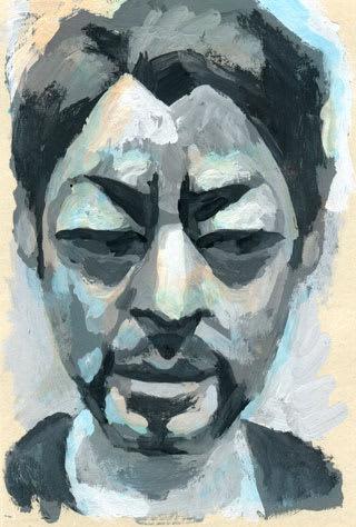 山田孝之の似顔絵