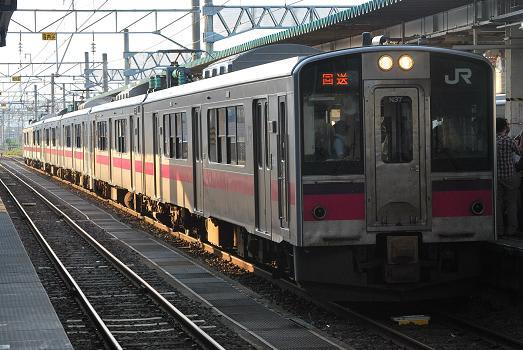 大曲花火大会臨時列車 - 斬剣次郎の鉄道・バス斬り
