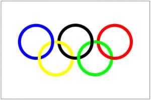 オリンピックの五輪マークの意味...