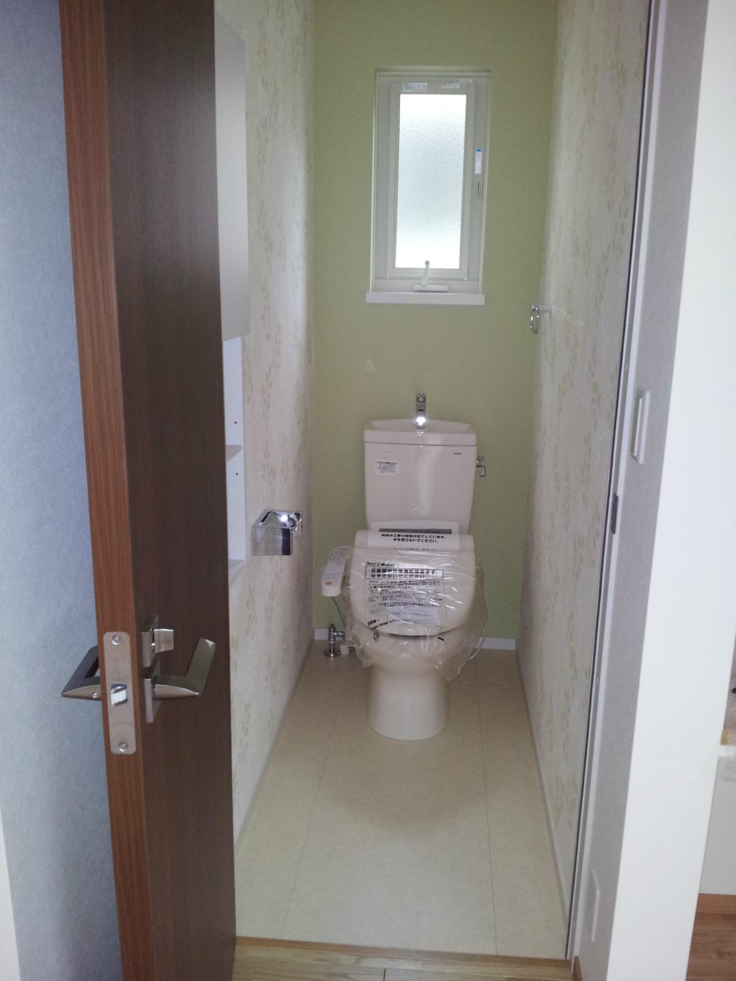 家具なしweb内覧会 2fトイレ 家を建てる
