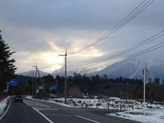 この前は青色大山。今日は黄金大山。