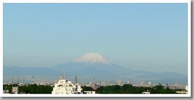 5月28日朝の富士山