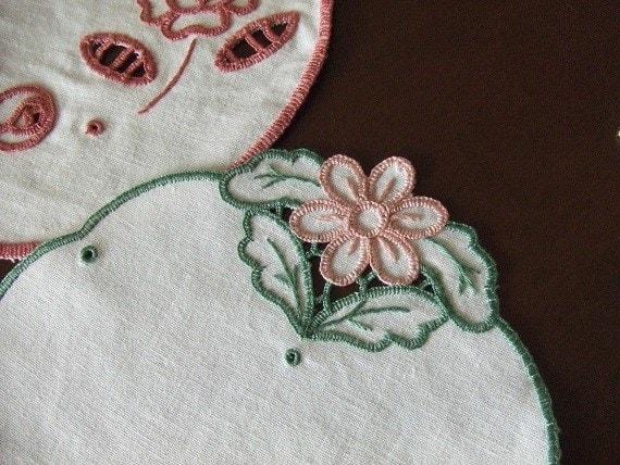 刺繍 カットワーク1ー4 - 針と糸