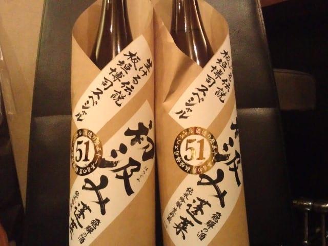 純米吟醸・蓬莱初汲み51