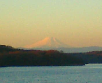 狭山湖 初日の出