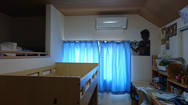 子供 部屋 エアコン