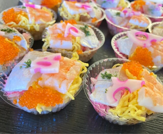 ミニちらし寿司