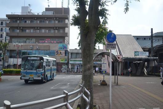 駅北口の様子